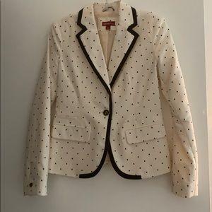 Unique polka dot blazer!